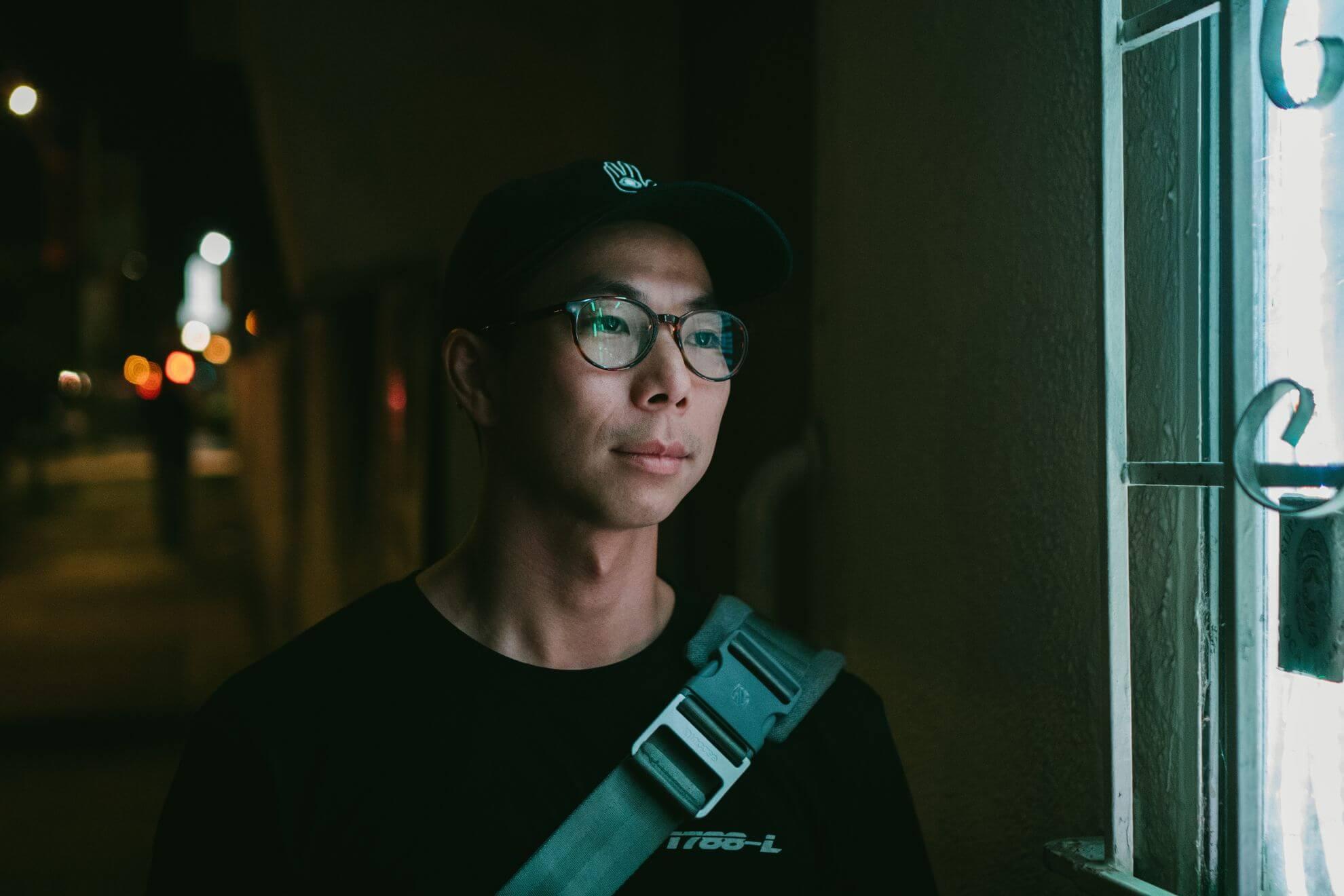 An Asian man