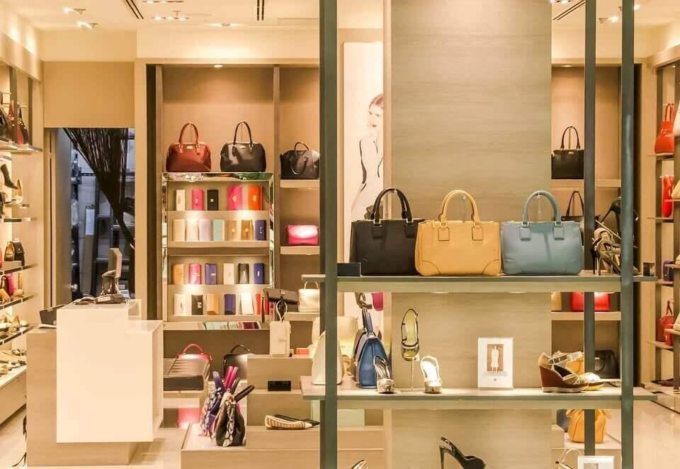 A fashion boutique store
