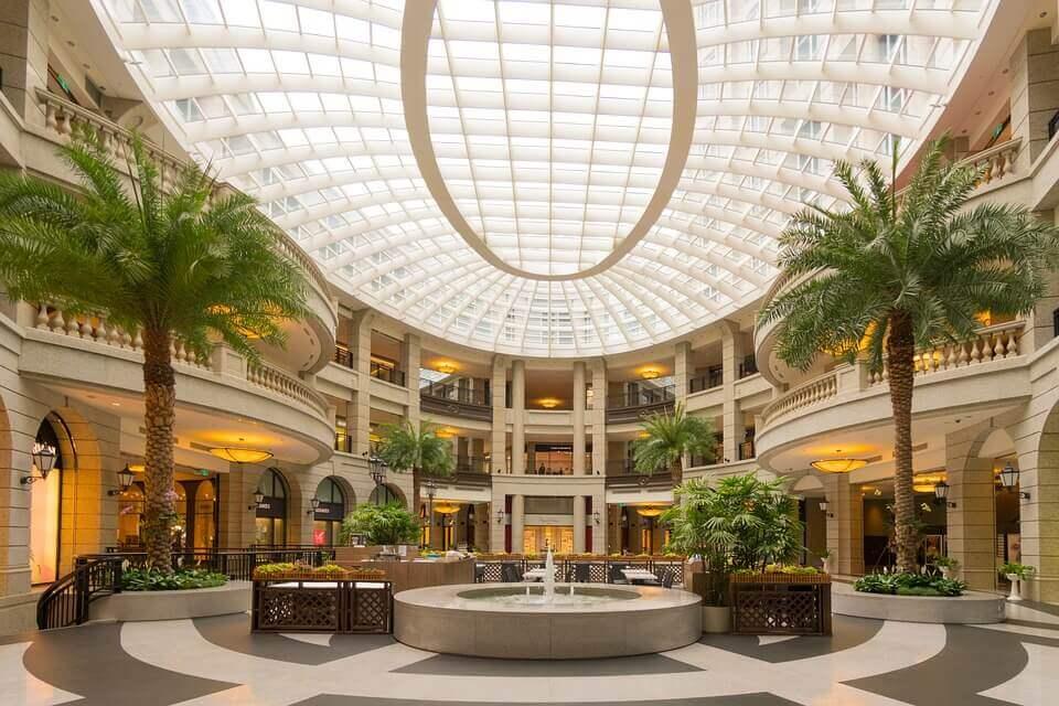 mall square