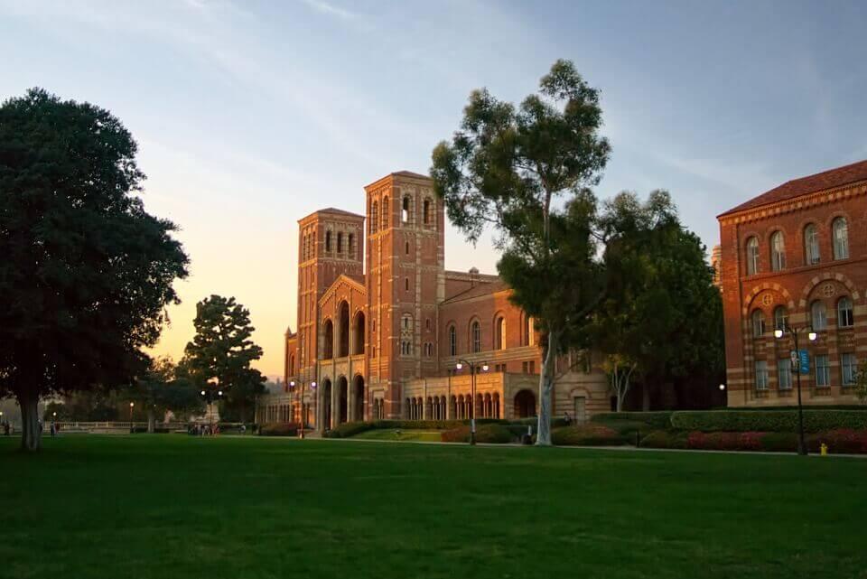 UCLA Royce Hall in Westwood