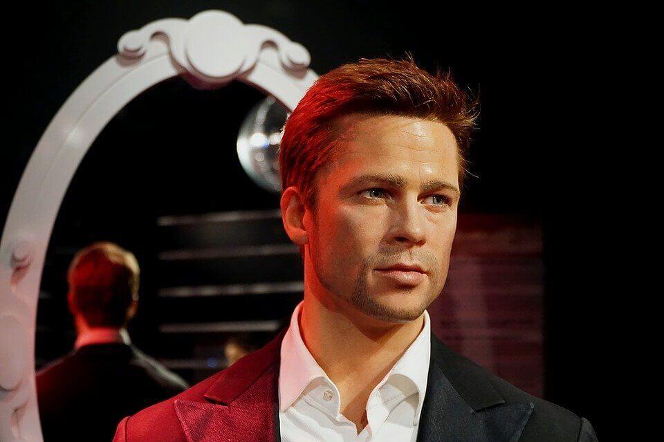 Brad Pitt wax figure