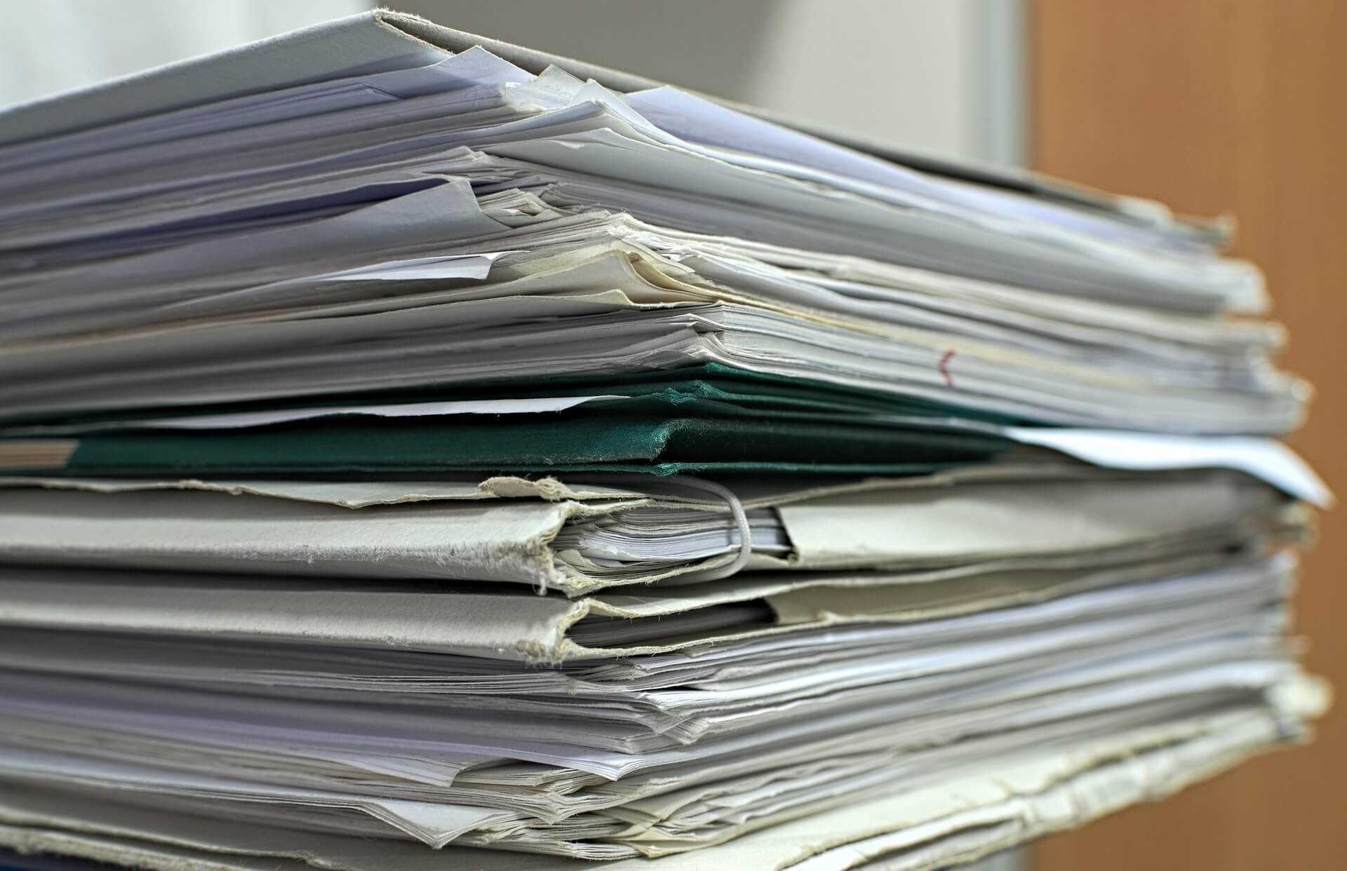Filed papers