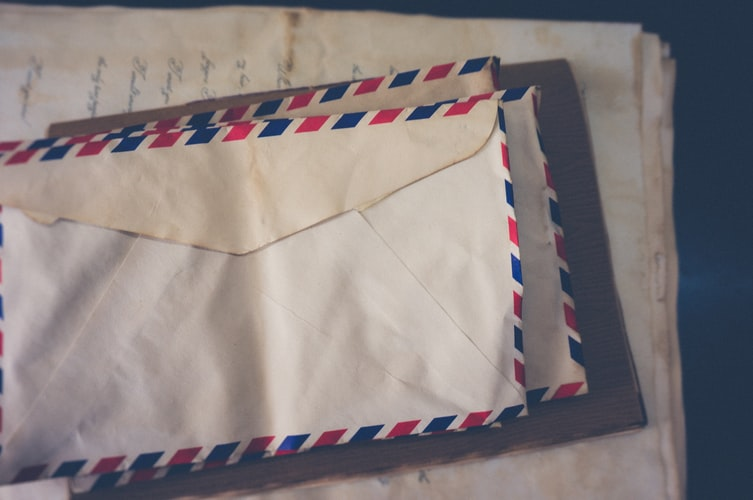 Several envelopes
