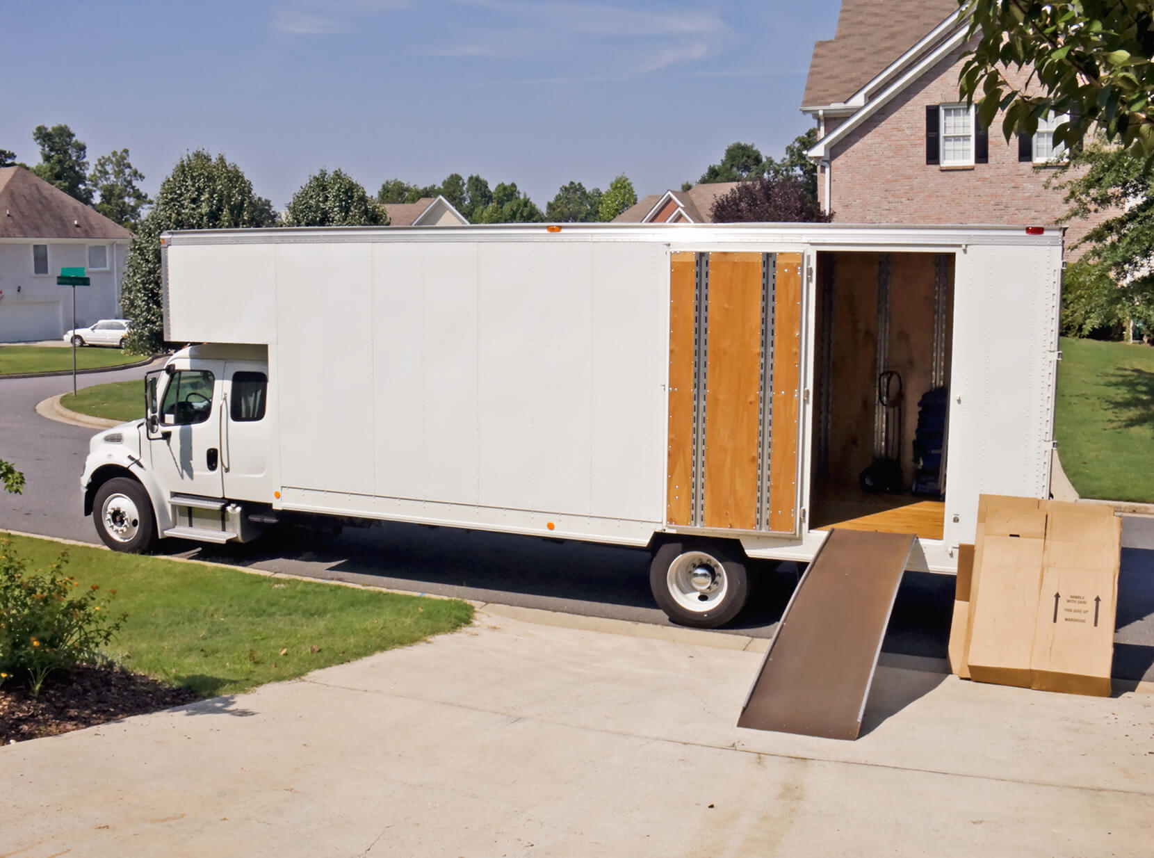 Relocating vehicle